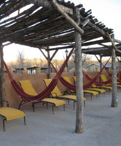 hammocks at ojo caliente